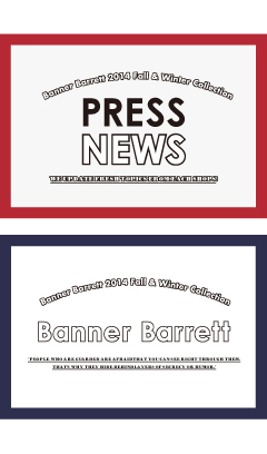 PRESS NEWS BANNER BARRETT